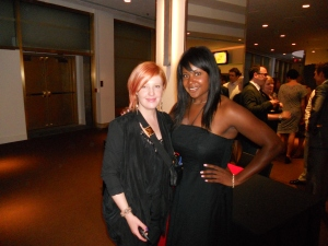 Laura Boshell Caryl Canzius volunteers at the Dora Mavor Moore Awards