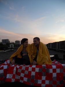 rebecca lilliard joseph murray with her short film toronto