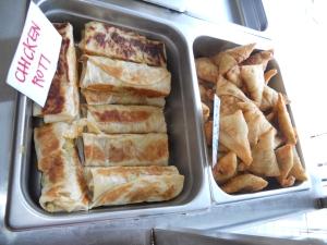 kensington market food roti samosa