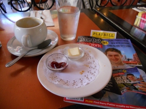 new york city breakfast time out magazine playbill