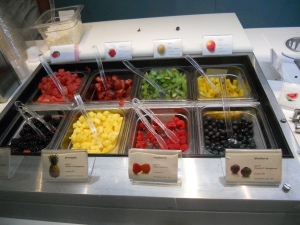 pinkberry toppings fro yo new york