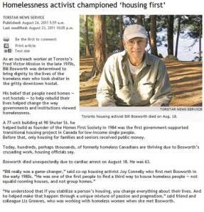 bill bosworth torstar news service