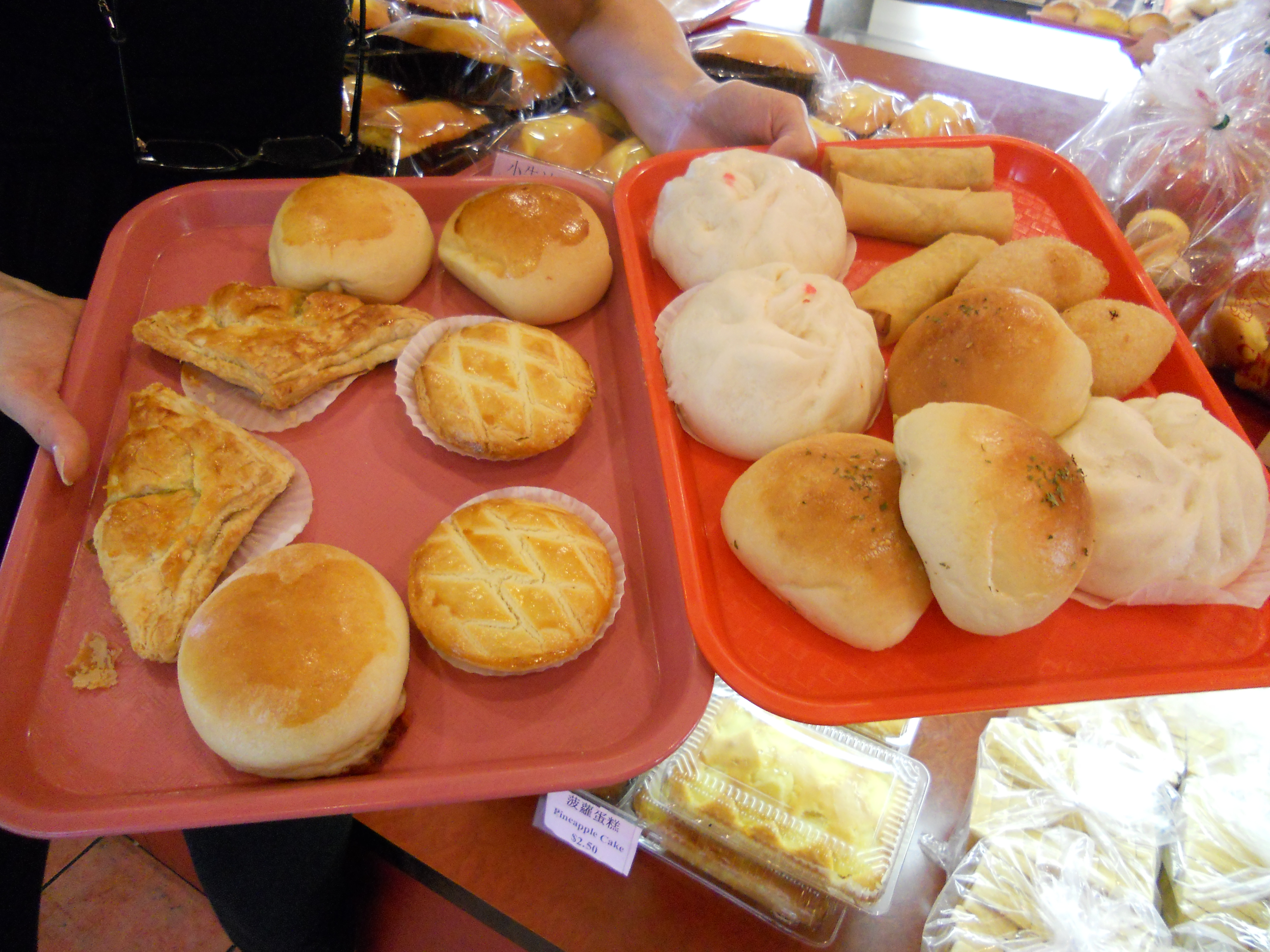 Off to Chinese Bakery to Fill Up on Buns | emer schlosser
