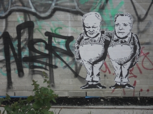 rob ford mayor toronto doug ford graffiti