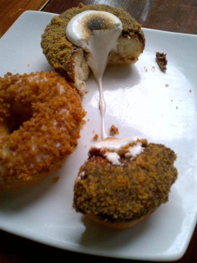 doughnuts beast restaurant toronto brunch maple bacon smore