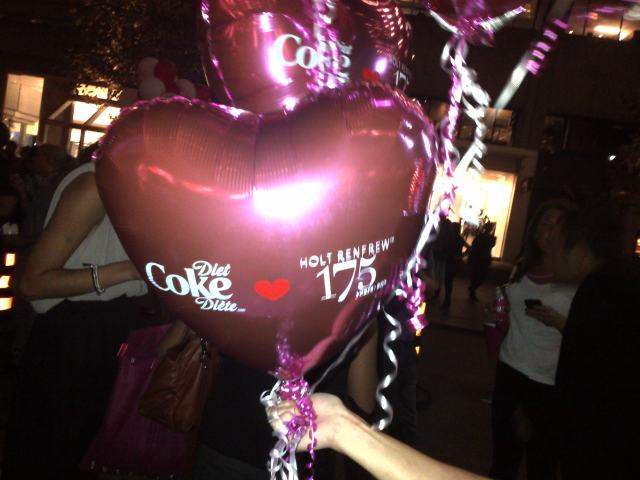 holt renfrew diet coke 175th birthday