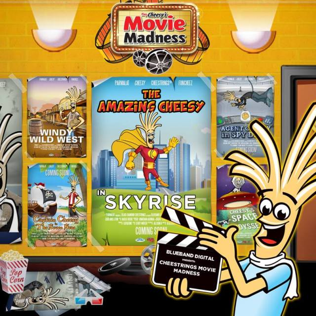 Cheesy's Movie Madness Cheestrings