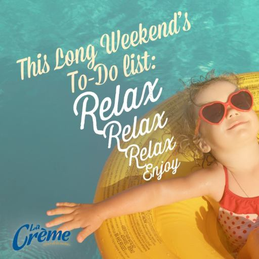 Long Weekend post for La Creme Cow